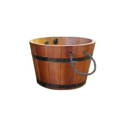 10 in. x 10 in. x 8 in. Small Rope Handle Planter