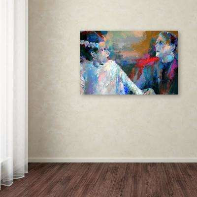 30 In X 47 Frankenstein And His Wife By Richard Wallich
