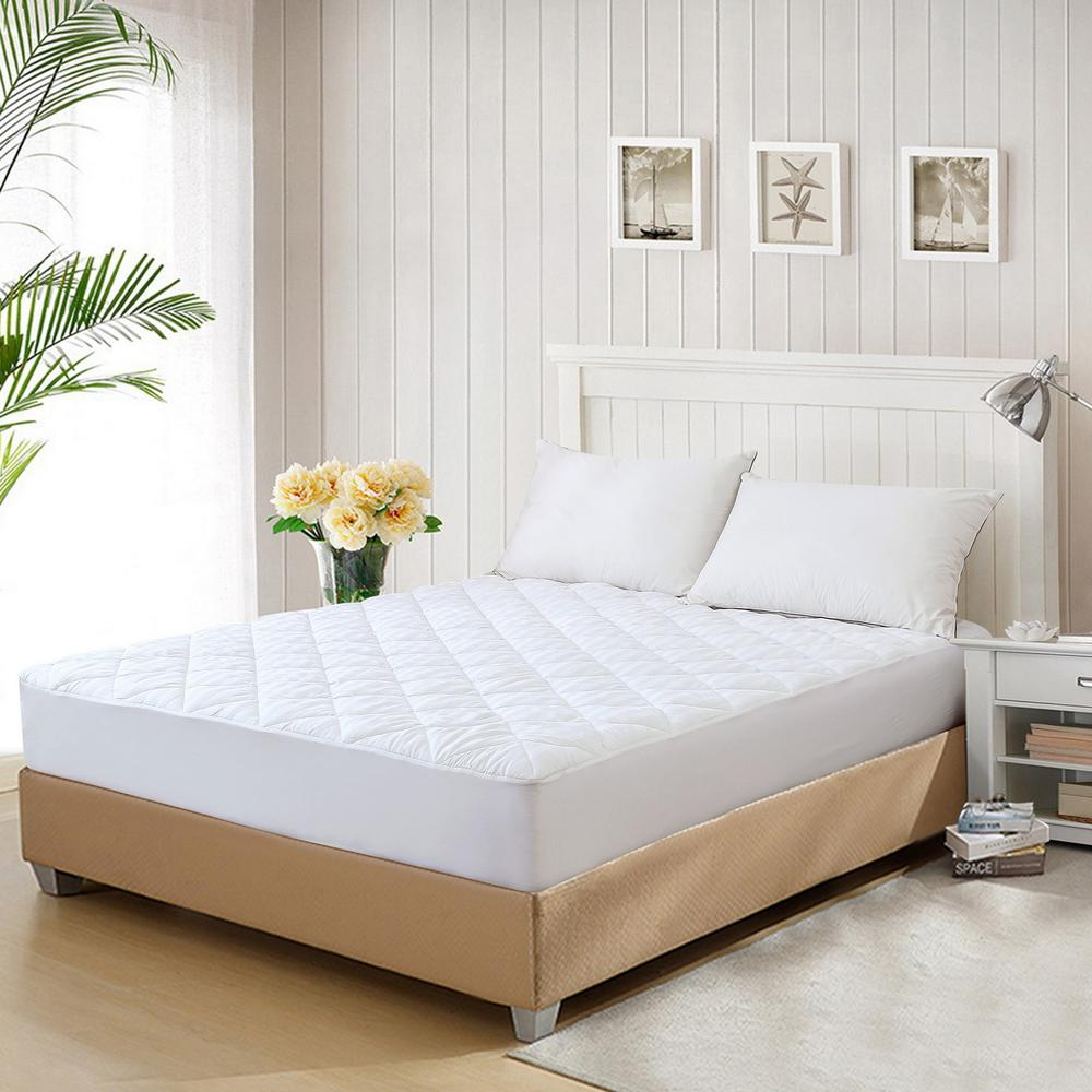 St. James Home 350 Thread Count Cotton Waterproof Twin Mattress Pad