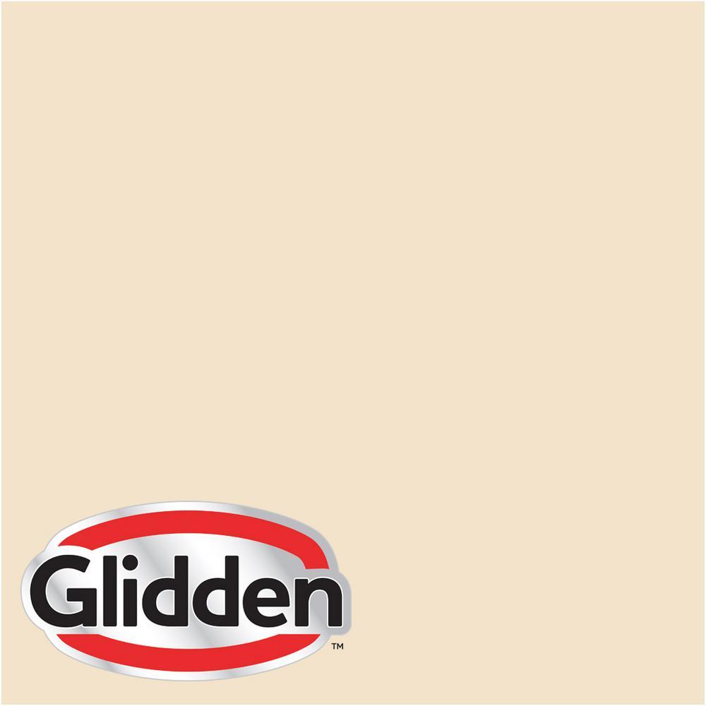 Glidden Premium 8 oz. #HDGY09 Gold Coast White Semi-Gloss Interior Paint Sample