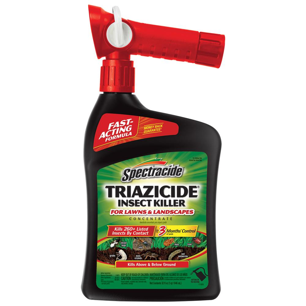 Spectracide Triazicide 32 fl. oz. Ready-to-Spray Lawn Insect Killer