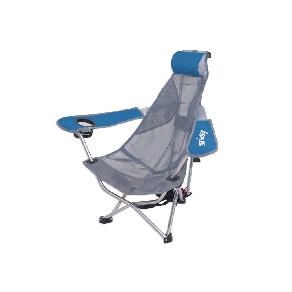 Kelsyus Blue Backpack Chair Mesh