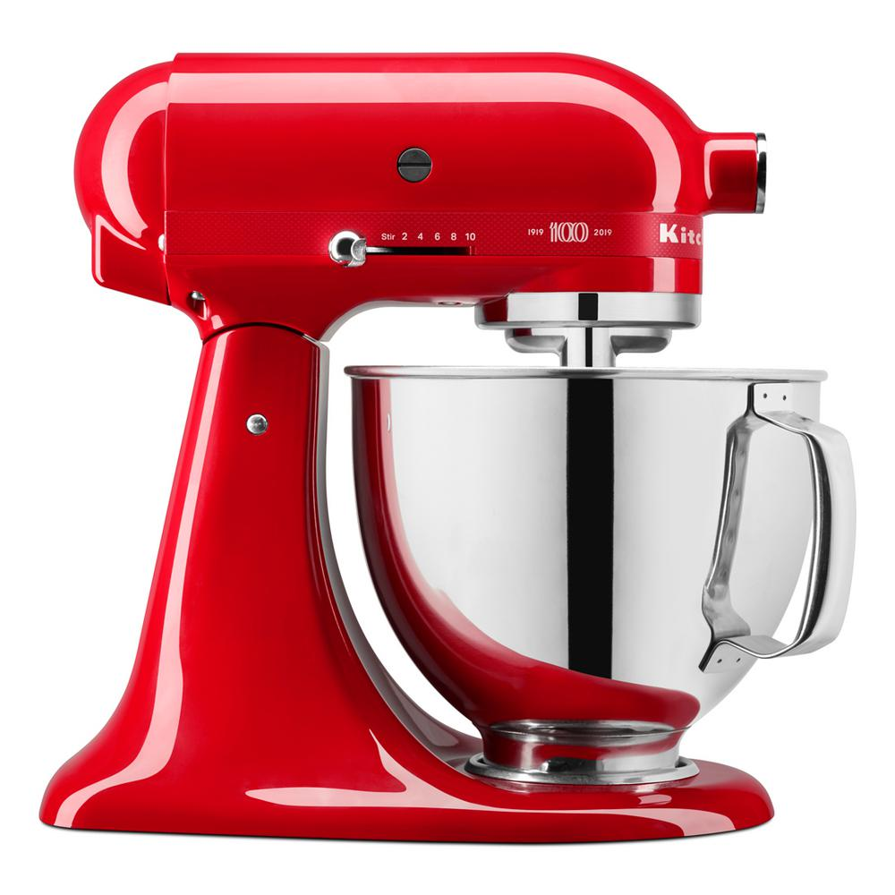 KitchenAid KitchenAid 100-Year Limited Edition Queen of Hearts 5 Qt. 10-Speed Passion Red Stand Mixer