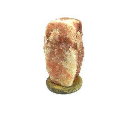 6 in. 5-8 lbs. Pink Himalayan Rock Salt Lamp