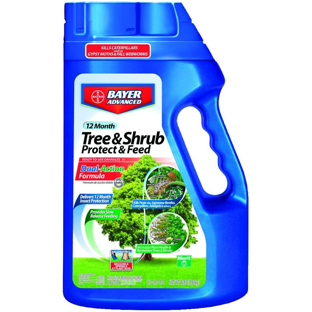 4 lb. Ready-to-Use Tree and Shrub Protect and Feed Granules