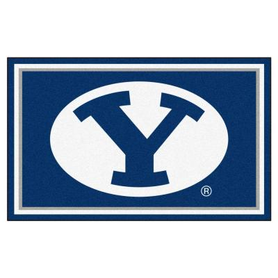 Brigham Young University 4 ft. x 6 ft. Area Rug
