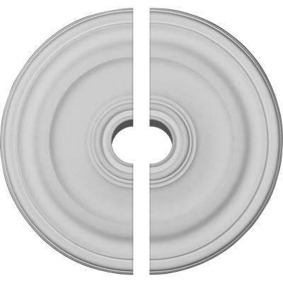 15-7/8 in. OD x 1-1/2 in. P Kepler Traditional Ceiling Medallion (2-Piece)