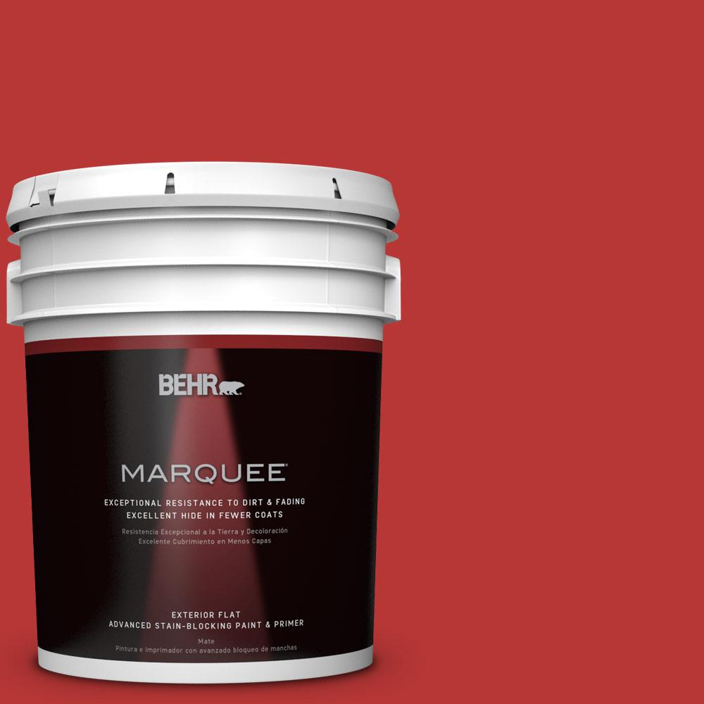 BEHR MARQUEE 5-gal. #S-G-170 Licorice Stick Flat Exterior Paint