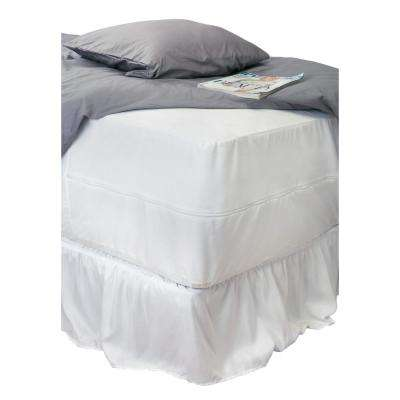 Twin Sanitized Waterproof Mattress Encasement
