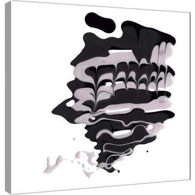 15.in x 15.in ''Polished in Charcoal'' Printed Canvas Wall Art