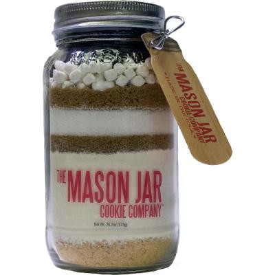 Smore's Cookie Mix in a Mason Jar