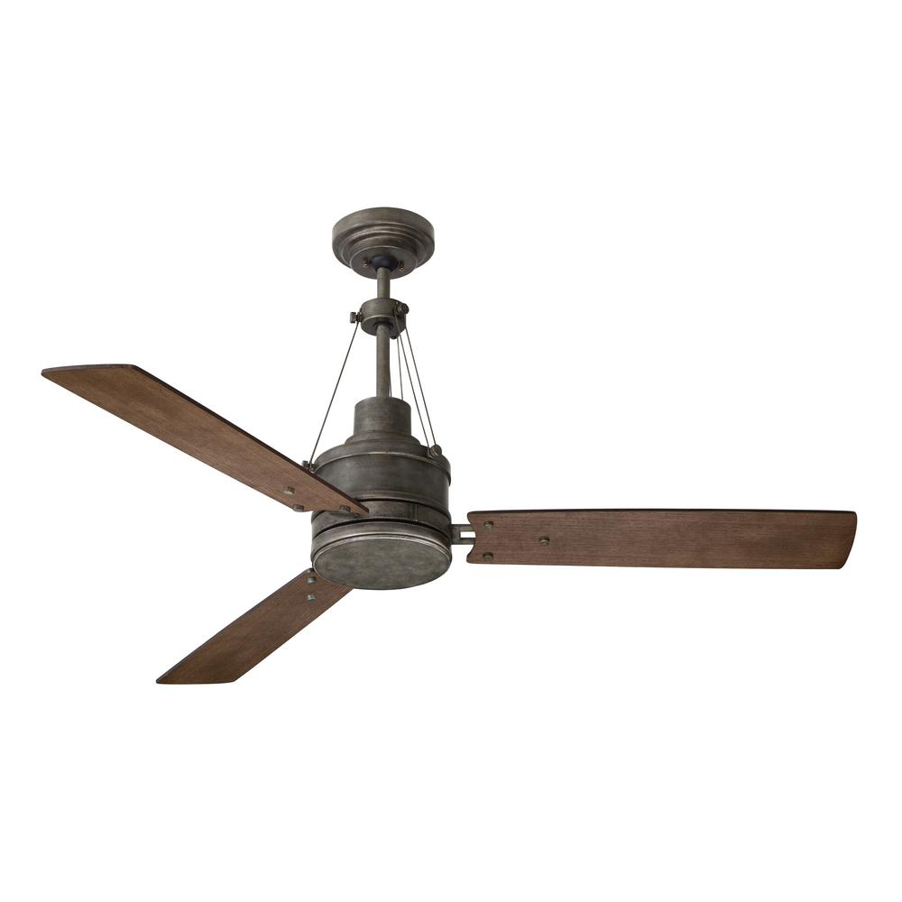Emerson highpointe 54 in vintage steel ceiling fan cf205vs the vintage steel ceiling fan aloadofball Image collections