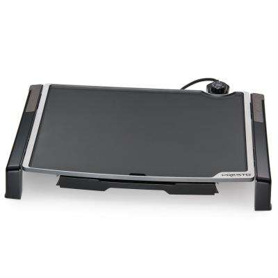 Fold and Tilt Electric Griddle
