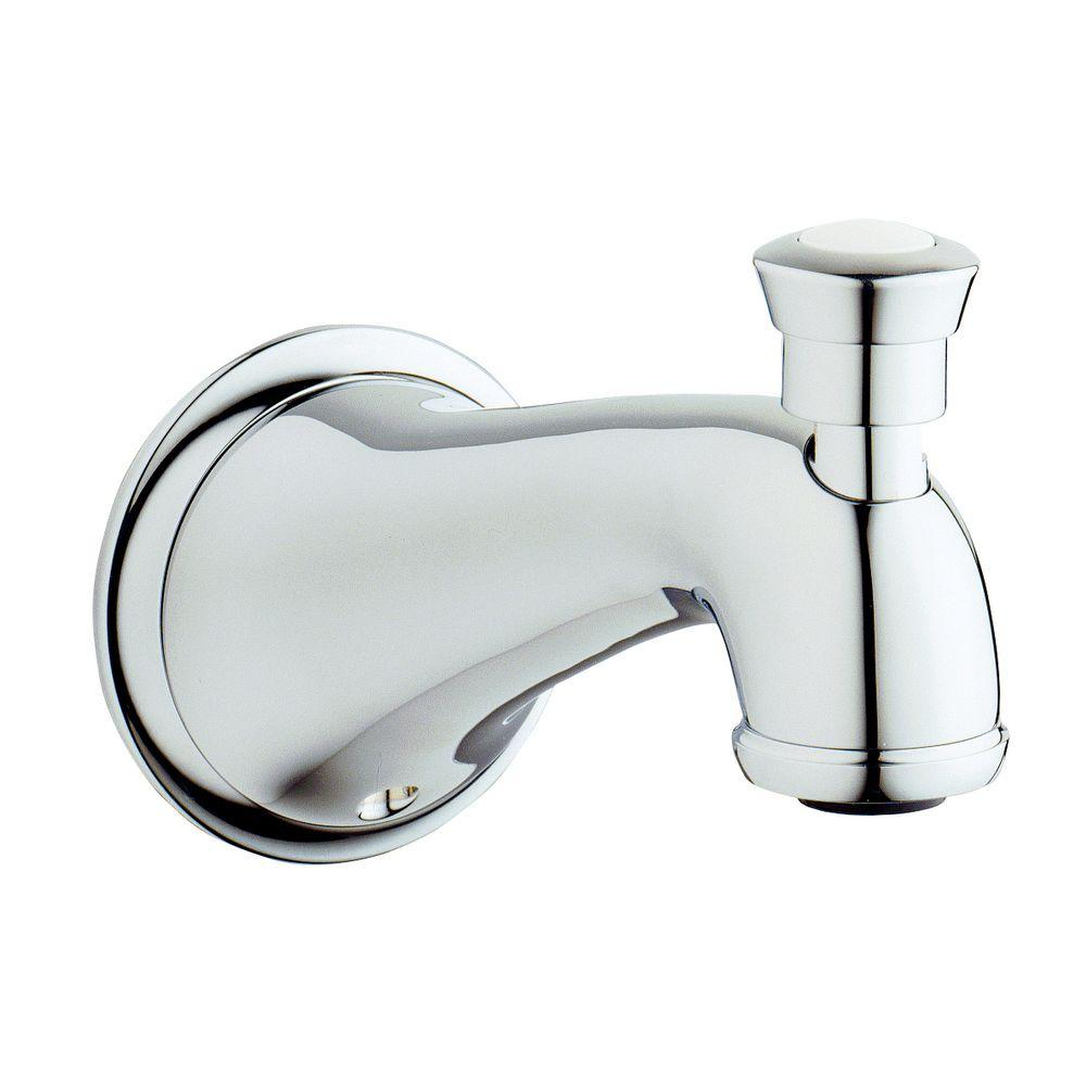 Seabury Tub Spout with Diverter in StarLight Chrome-13603000 - The ...