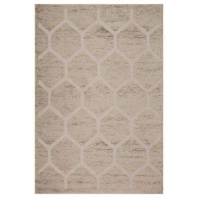 Tranquility Fungi / Moonrock 8 ft. x 9 ft. Indoor Area Rug