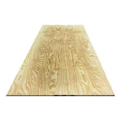 3/4 in. x 4 ft. x 8 ft. Ground Contact Southern Yellow Pine Pressure-Treated Plywood