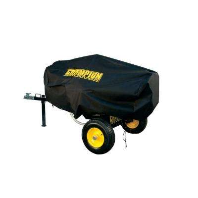 Medium Water and UV Resistant Custom Made Vinyl Log Splitter Cover