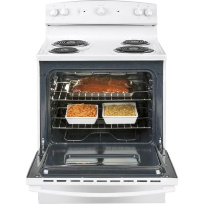 30 in. 5.0 cu. ft. Electric Range in White