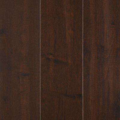 Yorkville Dark Chocolate Maple 3/4 in. Thick x 5 in. Wide x Random Length Solid Hardwood Flooring (19 sq. ft. / case)