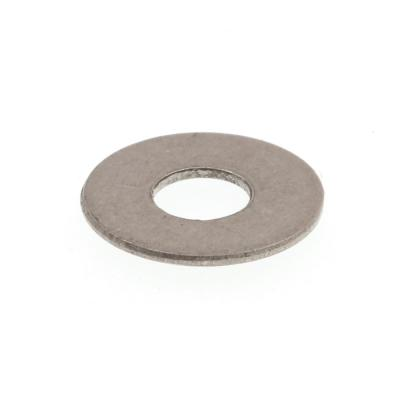 #6 x 5/16 in. O.D. SAE Grade 18-8 Stainless Steel Flat Washers (100-Pack)