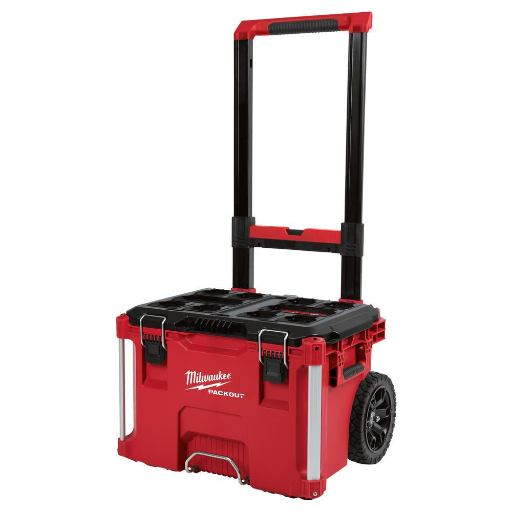 Milwaukee Packout 22 In Rolling Tool Box 48 22 8426 The