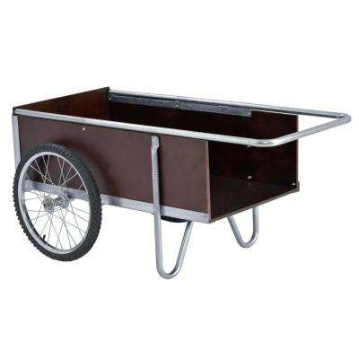 53 in. W 6.5 cu. ft. Wheelbarrow, 300 lb. Capacity