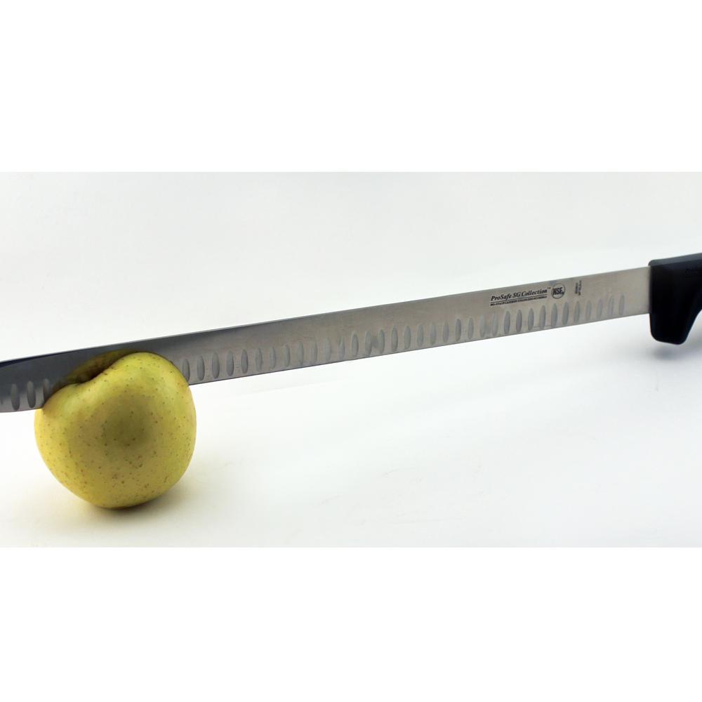 14 in. Soft Grip Granton Edge Slicer