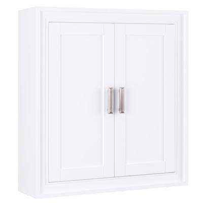 H Wall Cabinet In White