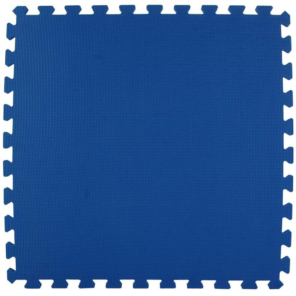 Greatmats Economy Foam Blue 2 ft. x 2 ft. x 1/2 in. Inter...
