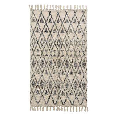 0.25 in. Cotton Printed Rug