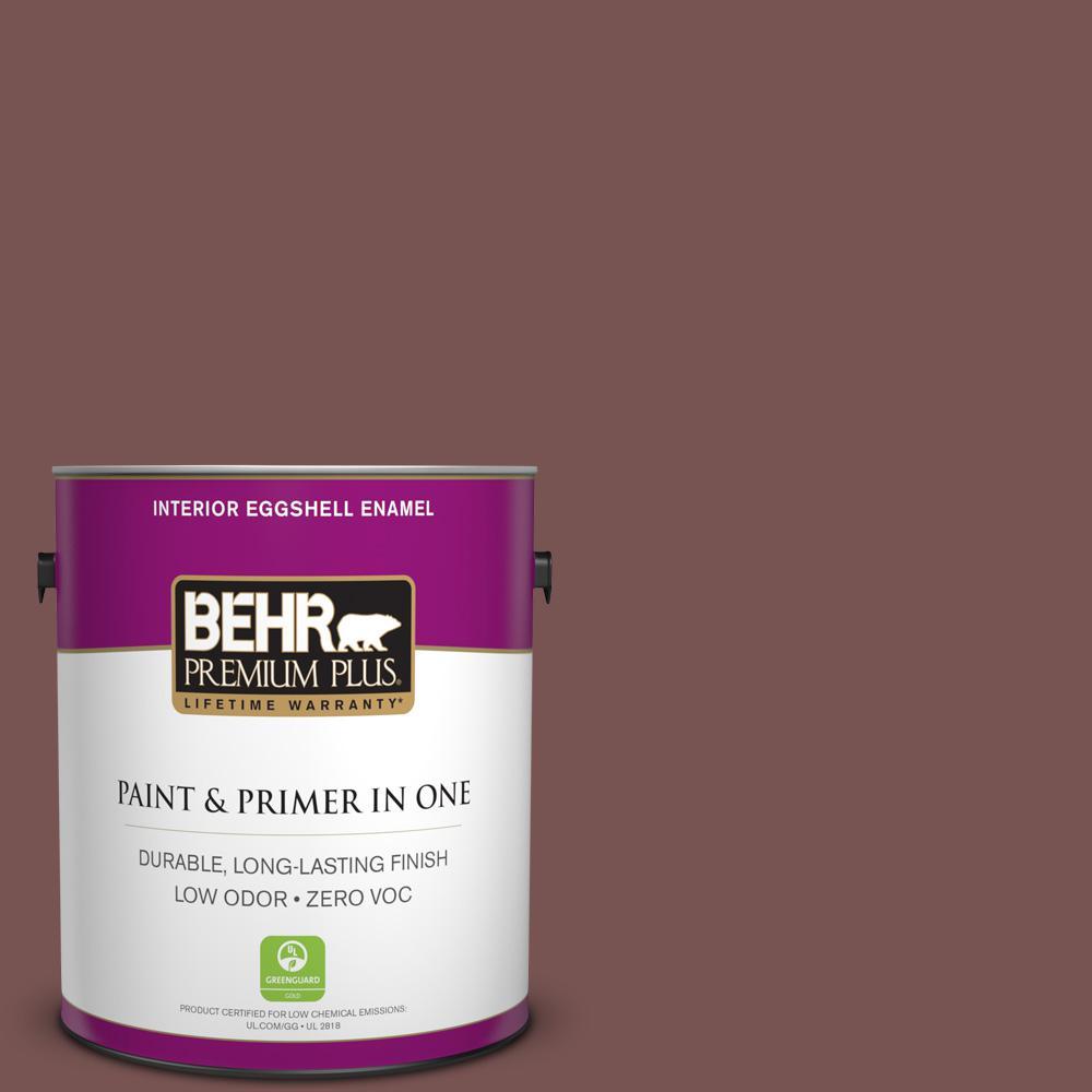 BEHR Premium Plus 1-gal. #700B-6 Sequoia Dusk Zero VOC Eggshell Enamel Interior Paint