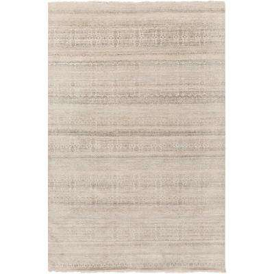 Ellington Gray 6 ft. x 9 ft. Area Rug