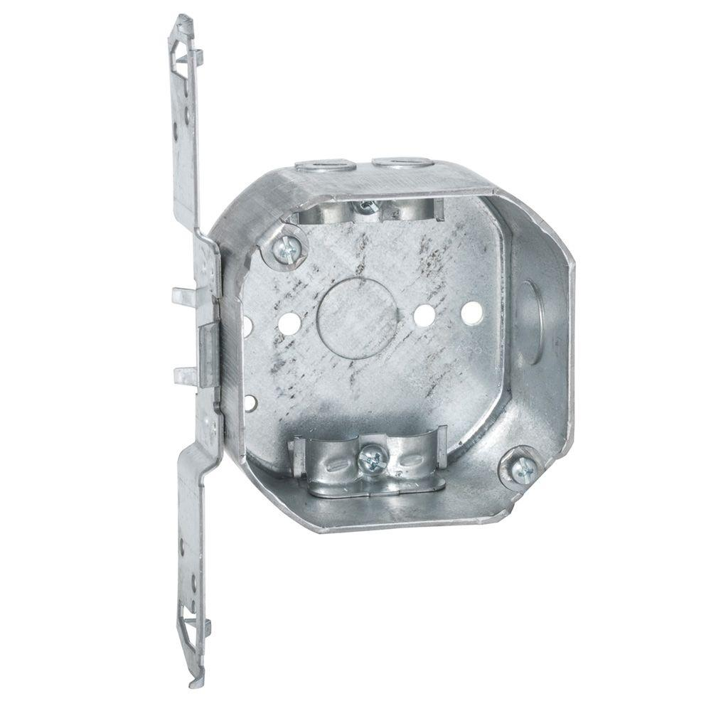 8 in. x 4 in. Junction Box-E989N-CAR - The Home Depot