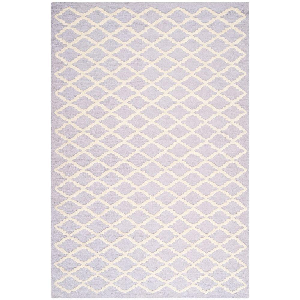 Safavieh Cambridge Lavender/Ivory 4 ft. x 6 ft. Area Rug