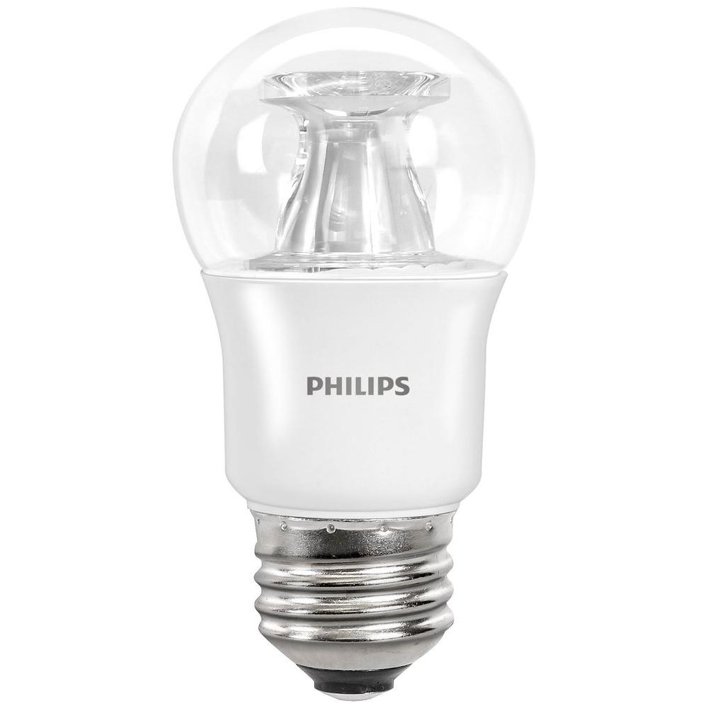 Philips 40 Watt Equivalent A15 Dimmable LED Light Bulb Soft White Fan With Warm  Glow Great Pictures