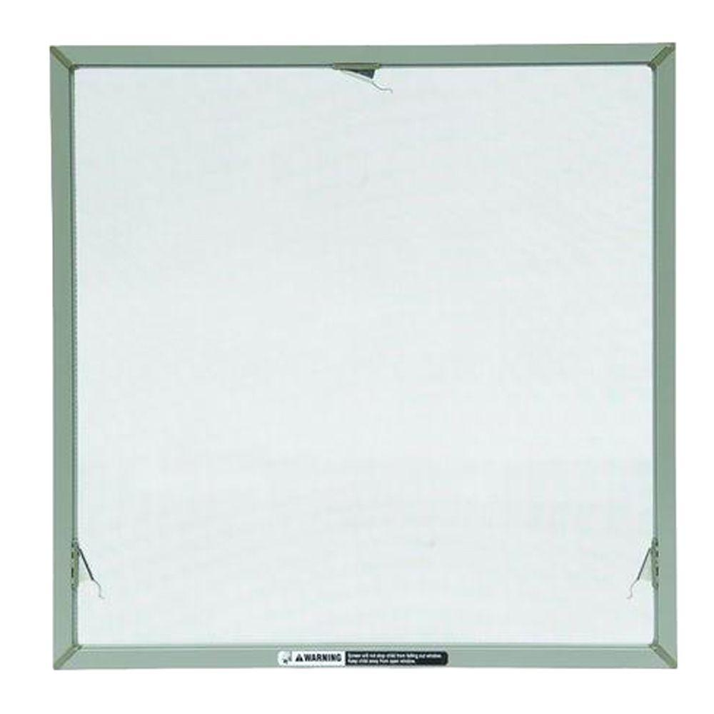 Andersen truscene 44 in x 20 5 32 in stone awning insect for Home depot window screens