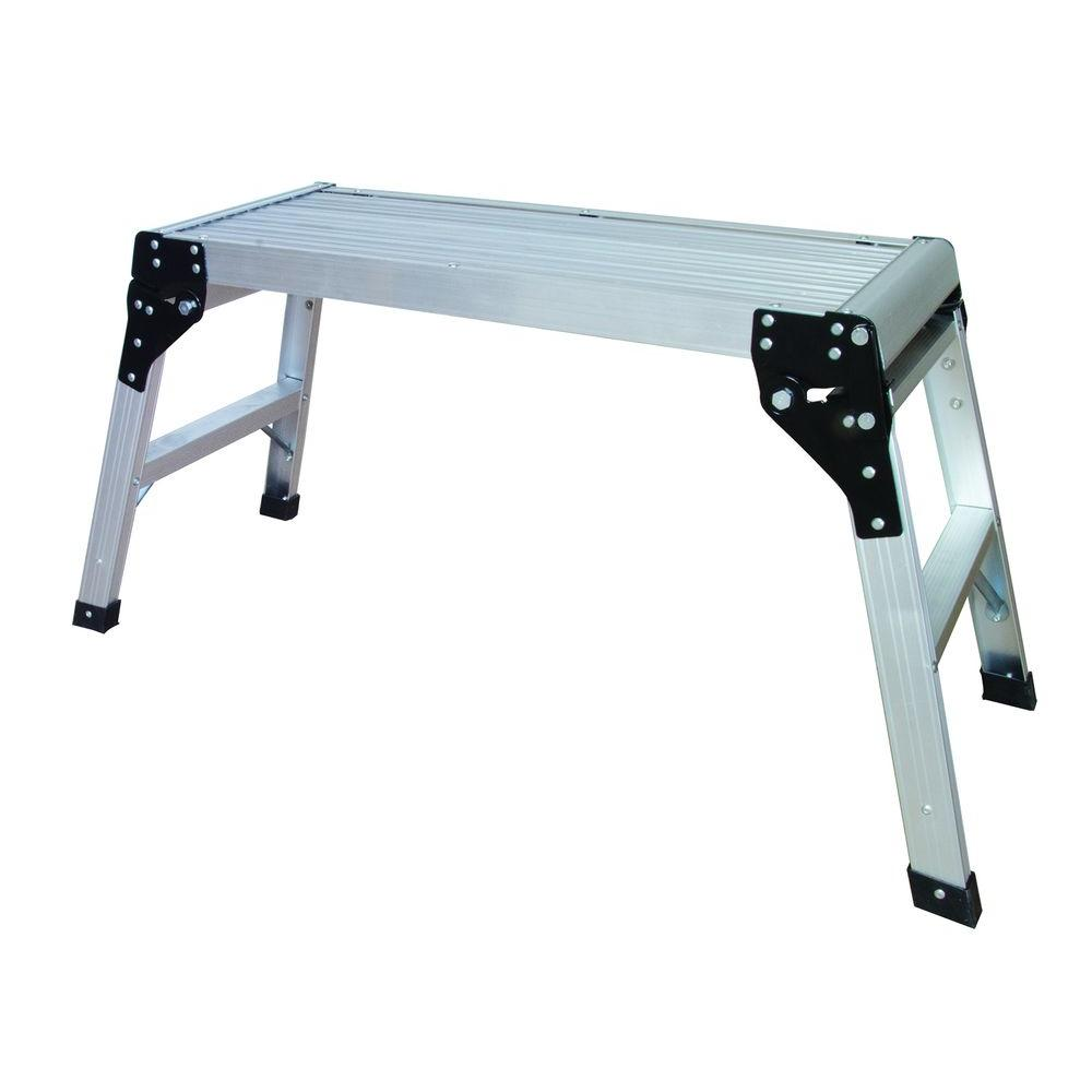 Metaltech 30 In Aluminum Portable Work Platform E