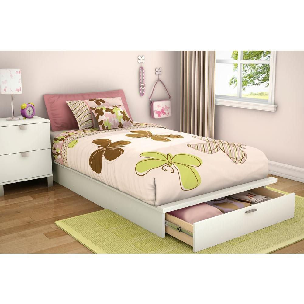 South Shore Bedtime Story Twin Kids Storage Bed