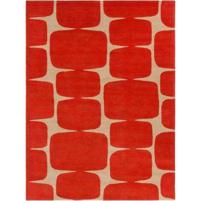 Spot Clean Burnt Orange Mission Area Rugs Rugs The Home Depot