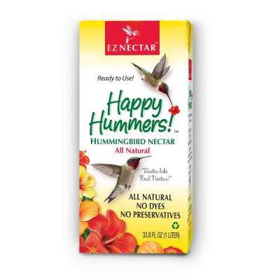33.8 fl. oz. Hummingbird Nectar/Food Ready-to-Use 100% Sugar and Water