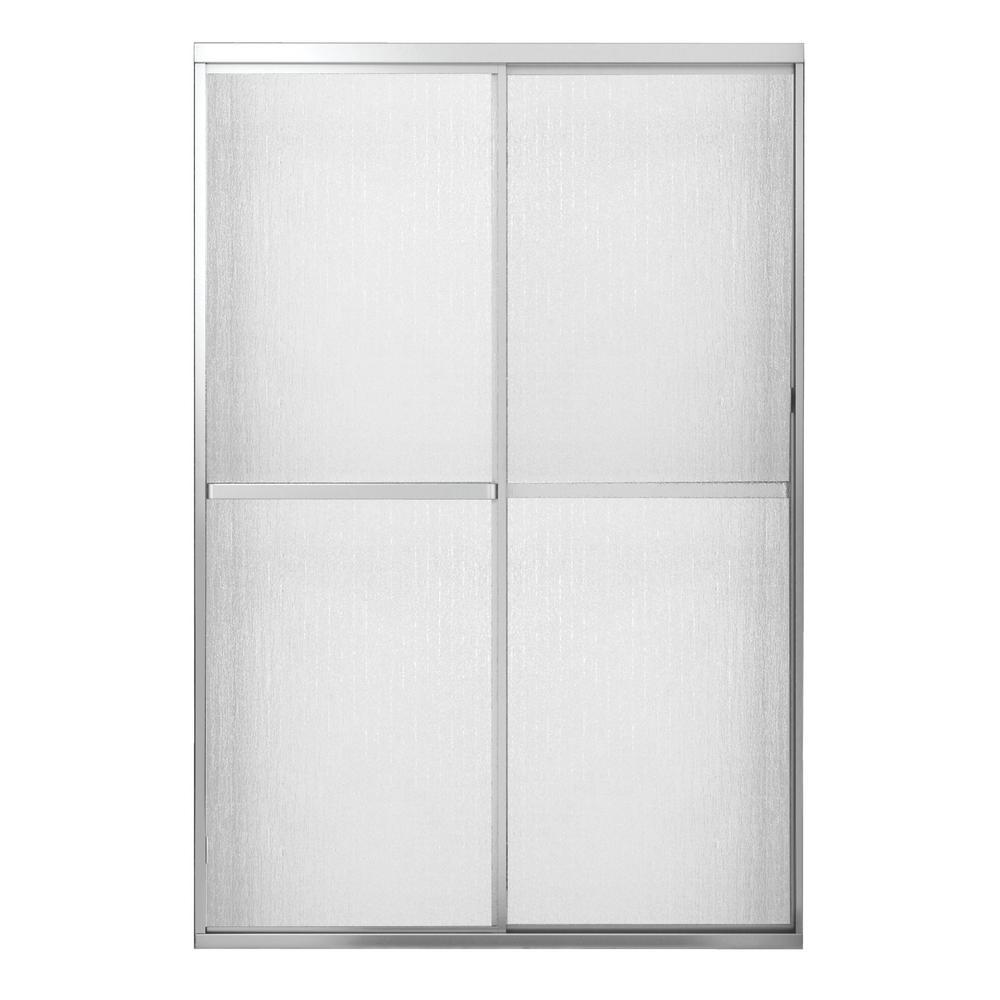 Atwater 42 in. - 47.5 in. x 68 in. Framed Sliding Shower Door in Chrome
