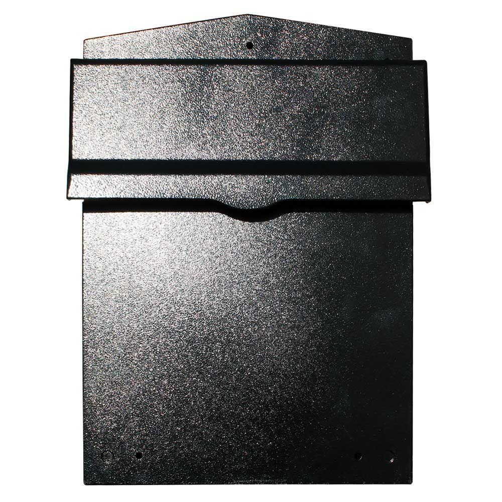 QualArc Liberty Black Wall Mount Locking Mailbox