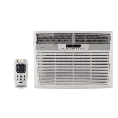 18,500 BTU 230-Volt Window Air Conditioner with Heat