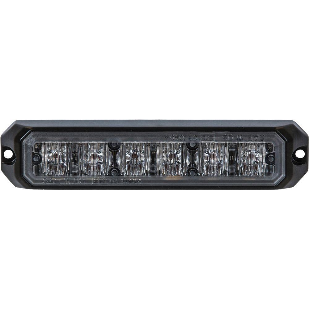 6-Clear LED 5 in. Mini Strobe Light
