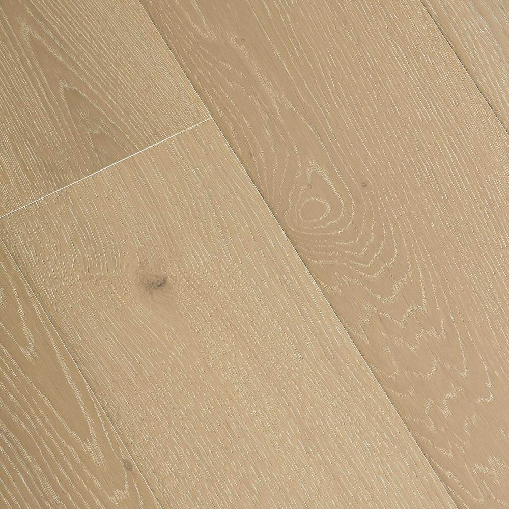 Home Legend Wire Brushed White Oak 3/8 in. Thick x 7-1/2 in. Wide x Varying Length Click Lock Hardwood Flooring (30.92 sq. ft./case)