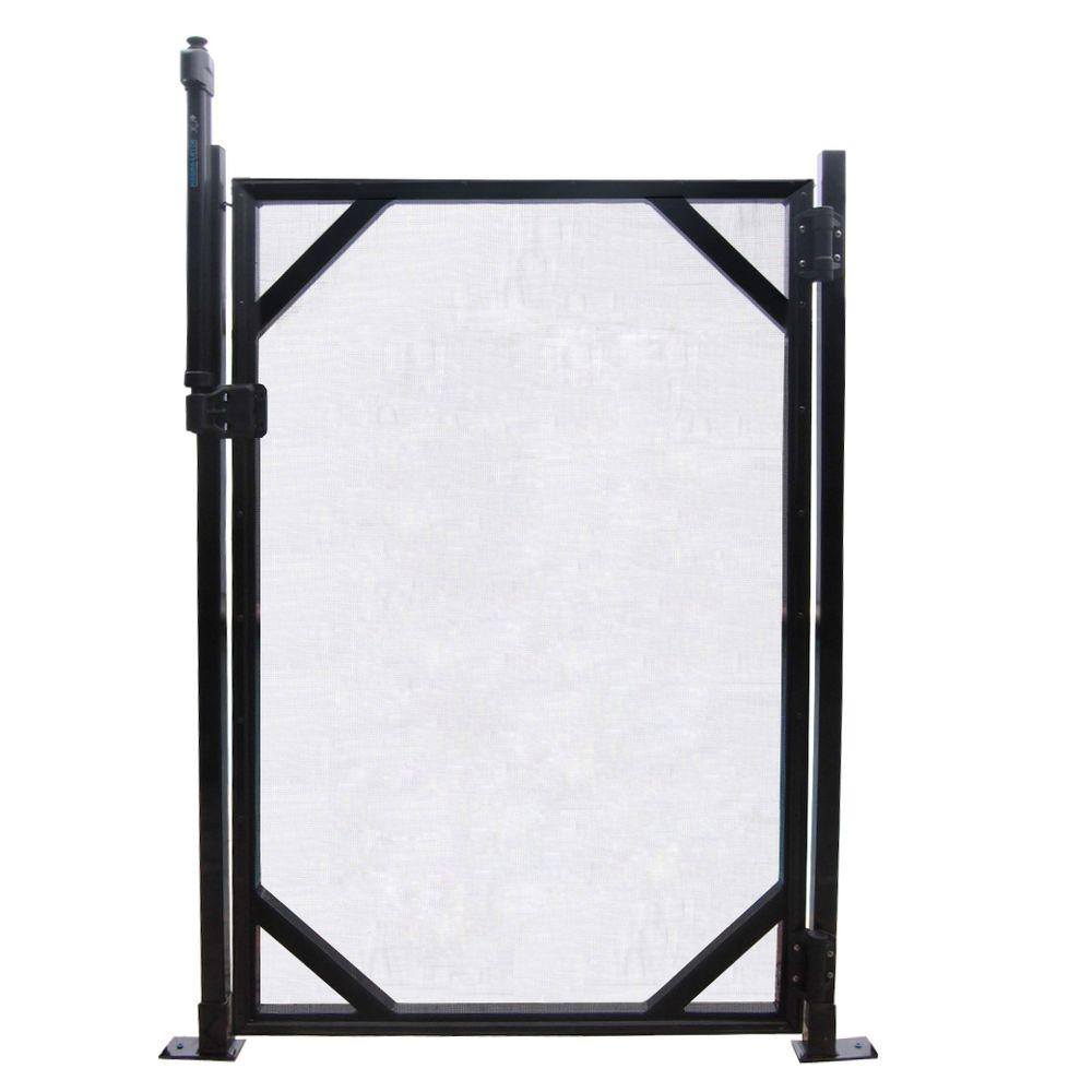 Gli pool products ft in safety fence gate for
