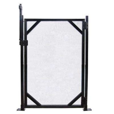 4 ft. x 30 in. Safety Fence Gate for In Ground Pools