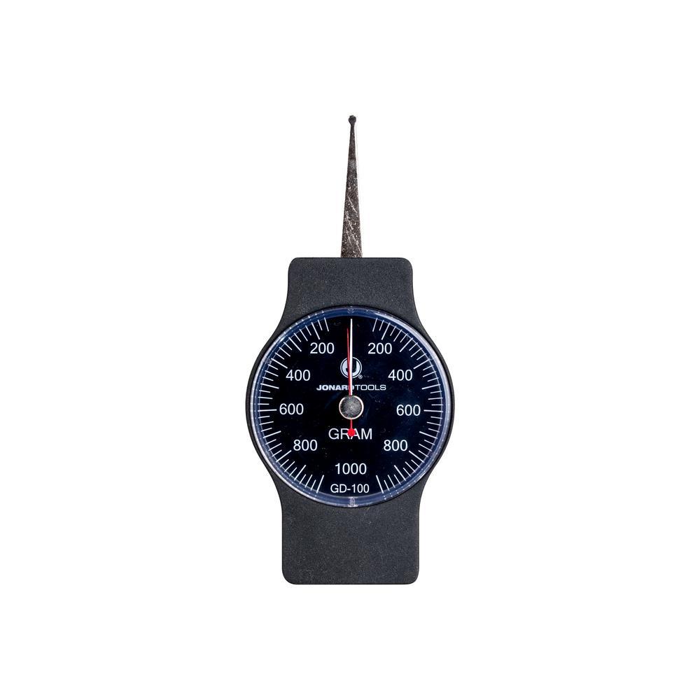1.5 in. Dynamometer Gauge, 100-1000 GR