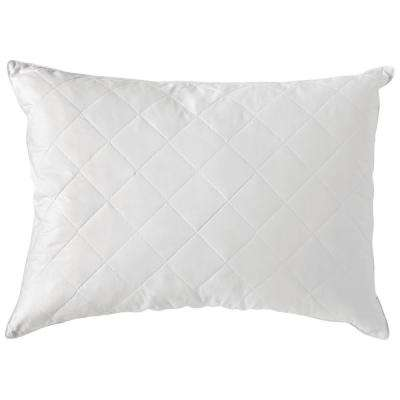 Quilted Jumbo Natural Comfort Feather Pillow