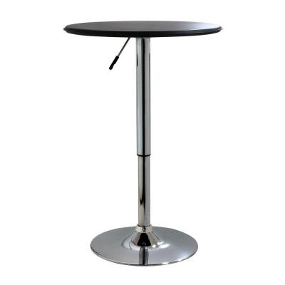 Adjustable Height Chrome Swivel Pub/Bar Table